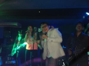 Yep, that's me singing!