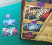 Mysterium cards and ghost board