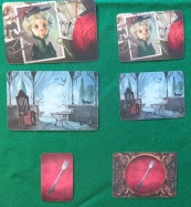 Mysterium ghost and psychic cards
