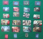 Mysterium rows of cards